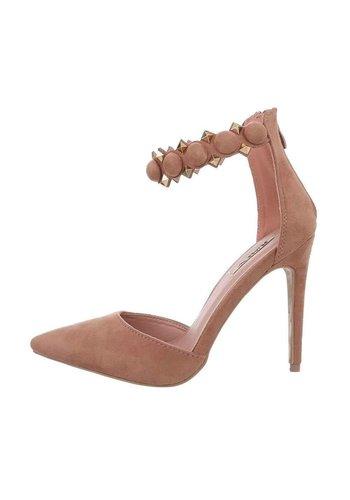 D5 Avenue Damen High-Heel-Pumps - Rosa