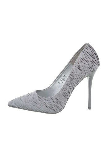 D5 Avenue Damenschuhe mit hohem Absatz - grau