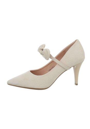 D5 Avenue Damen High-Heel Pumps - beige