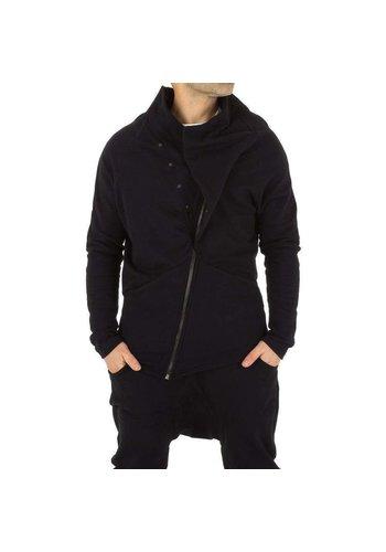 D5 Avenue Herren Sweatjacke von Visionist Couture - schwarz