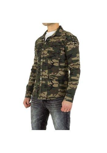 D5 Avenue Herrenhemd von Uniplay - Armeegrün