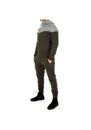 D5 Avenue Trainingsanzug für Herren von Fashion Sport - khaki