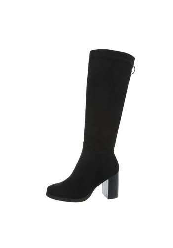 D5 Avenue Damen High-Heel Stiefel - black