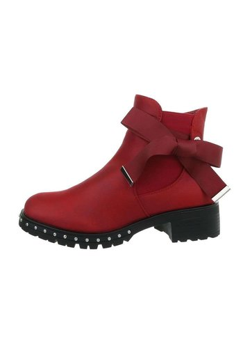 D5 Avenue Damen Chelsea Boots - D.rot