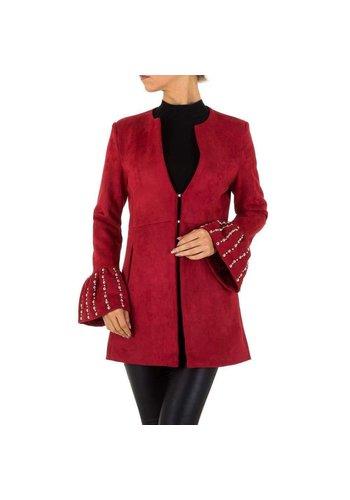 D5 Avenue Damen Jacke von Emmash Paris - winered