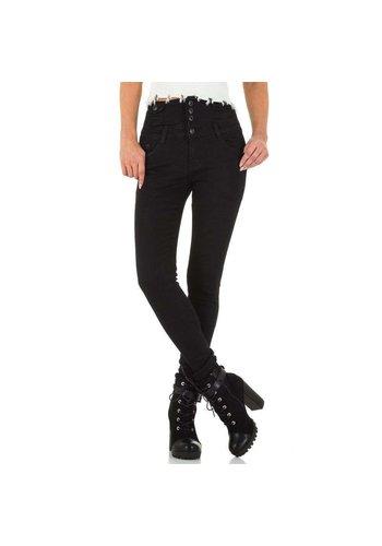 D5 Avenue Damen Jeans von By Sasha - black