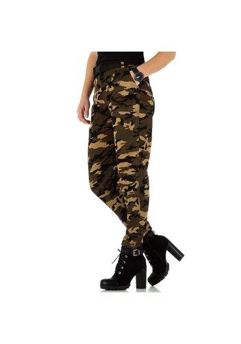D5 Avenue Damen Jeans von Laulia - camouflage