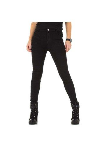 D5 Avenue Damen Jeans von Laulia - black