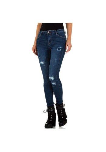 D5 Avenue Damen Jeans von Laulia - D.blau