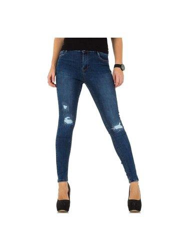 D5 Avenue Damen Jeans von Laulia - blau