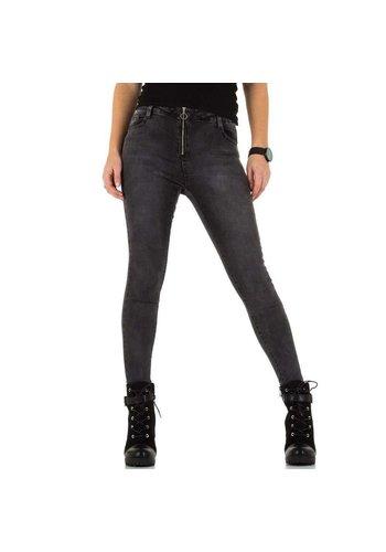 D5 Avenue Damen Jeans von Laulia - DK.grey