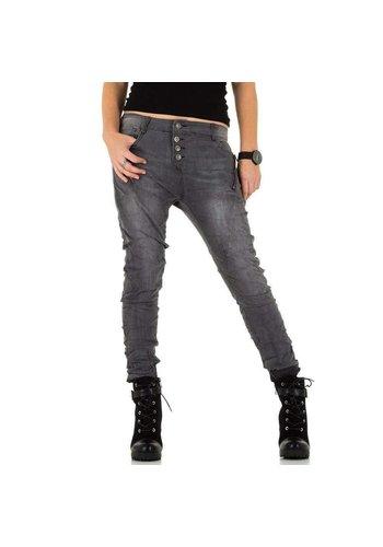 D5 Avenue Damen Jeans von Laulia - grau