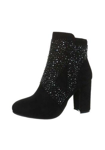 D5 Avenue Damen High-Heel Stiefeletten - schwarz