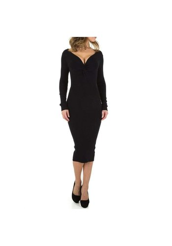 D5 Avenue Damenkleid - schwarz