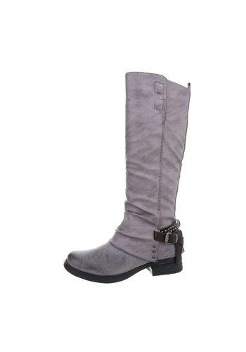 D5 Avenue Damen Klassische Stiefel - grau