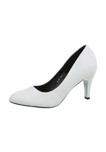 D5 Avenue Damenschuhe mit hohen Absätzen - weiß