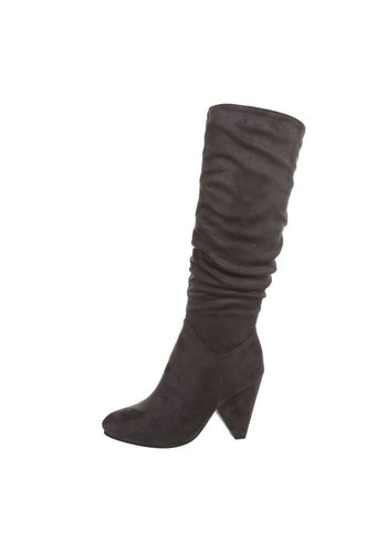 D5 Avenue Damen High-Heel Stiefel - grey