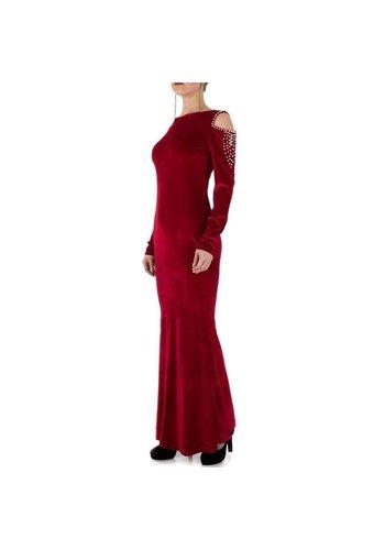 D5 Avenue Damen Kleid - winered