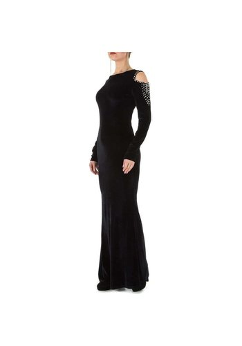 D5 Avenue Damen Kleid - schwarz