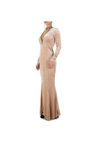 D5 Avenue Damen Kleid - khaki