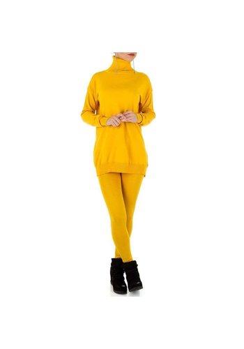 D5 Avenue Frauenanzug - gelb