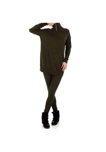 D5 Avenue Damen Anzug - khaki