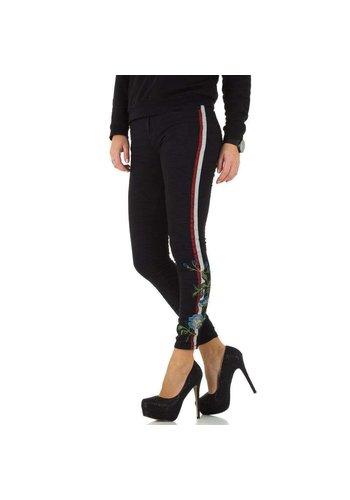 D5 Avenue Damen Jeans - noir