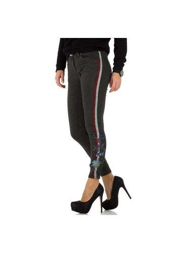 D5 Avenue Damen Jeans - gris