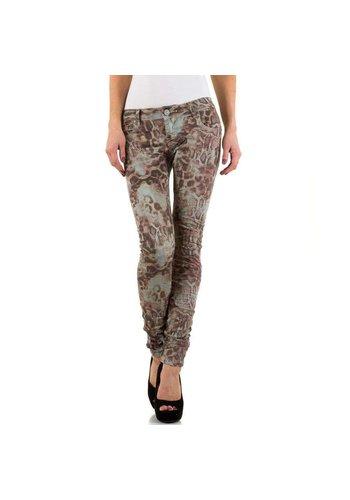 MOZZAAR Damen Jeans - multi