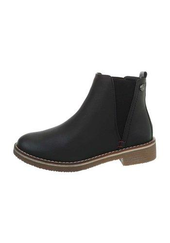 D5 Avenue Damen Chelsea Boots - schwarz