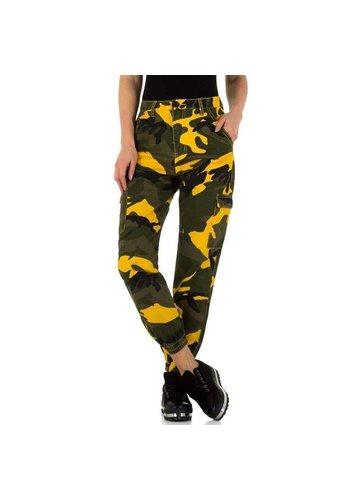 D5 Avenue Damen Jeans von Laulia - khaki