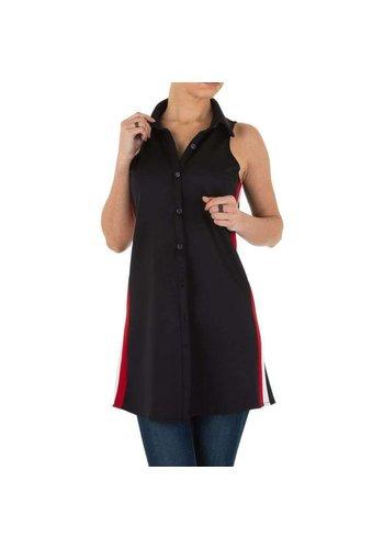 D5 Avenue Damenhemd - schwarz