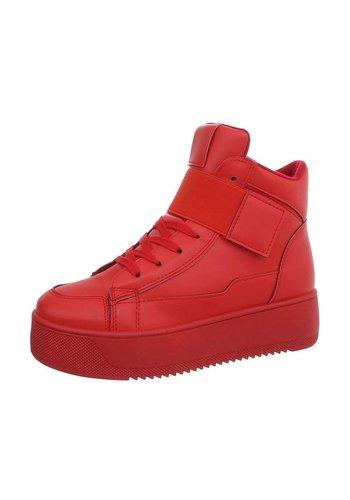 D5 Avenue Damen Sneakers high - red