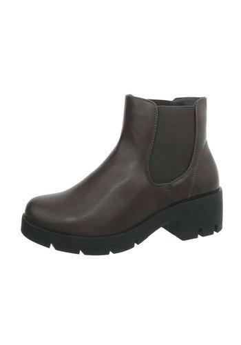 D5 Avenue Damen Chelsea Boots - grau