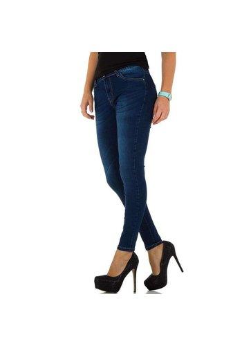 D5 Avenue Damen Jeans von Ds Fashion - DK.blue