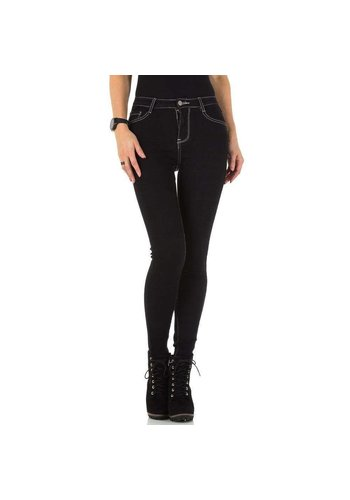 D5 Avenue Damen Jeans von Laulia - schwarz