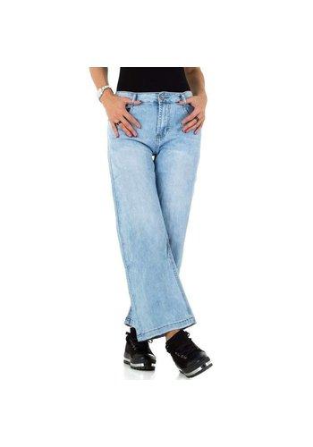 D5 Avenue Damen Jeans von Laulia - H.blau