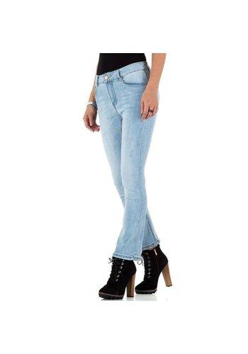 D5 Avenue Damen Jeans von Laulia - blue