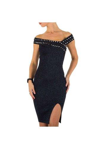 D5 Avenue Damen Kleid - D.blau