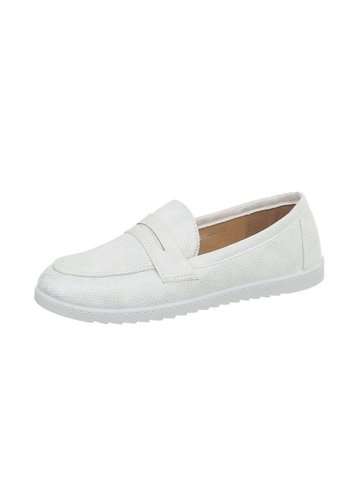 D5 Avenue Damen Slipper - white