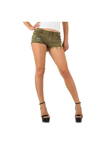 D5 Avenue Damen Shorts von Realty Jeans - khaki