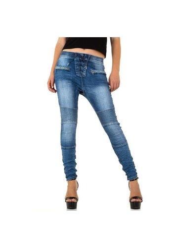 D5 Avenue Damen Jeans von Place Du Jour - blau