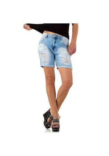 D5 Avenue Damen Shorts von Realty Jeans - H.blau
