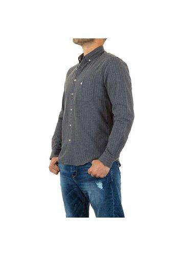 D5 Avenue Herrenhemd von Y.Two Jeans - hellgrau
