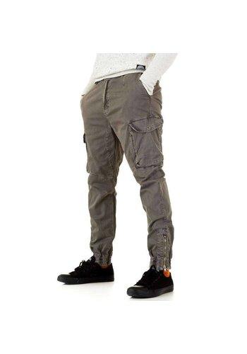 D5 Avenue Herren Hose von Y.Two Jeans - tortora