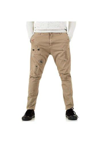 D5 Avenue Herren Hose von Y.Two Jeans - camel