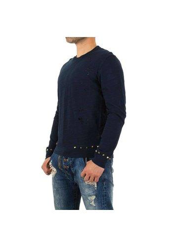 D5 Avenue Herren Shirt von Y.Two Jeans - deepblue