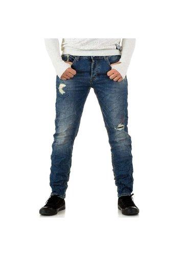 D5 Avenue Herrenjeans von Y.Two Jeans - blau