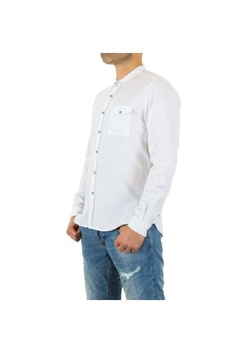 D5 Avenue Herren Hemd von Y.Two Jeans - white