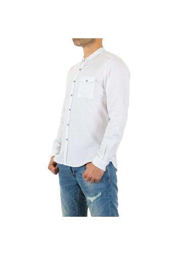 D5 Avenue Herrenhemd von Y.Two Jeans - weiß